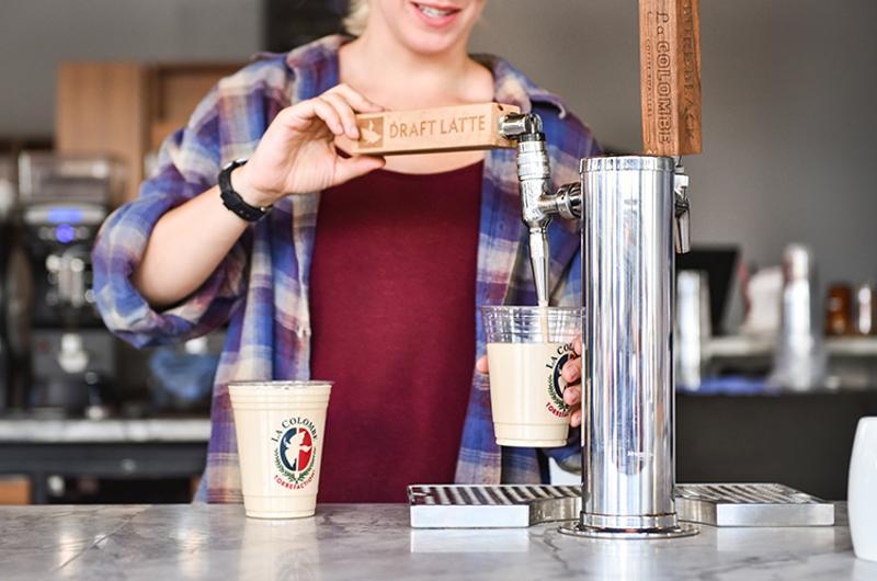 timesaving draft latte