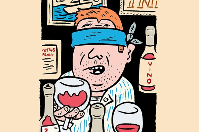 blind testing wines