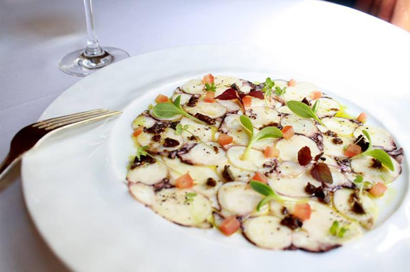 21 club octopus carpaccio