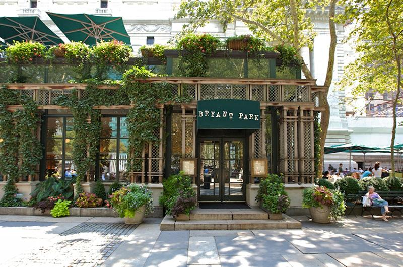 bryant park grill cafe