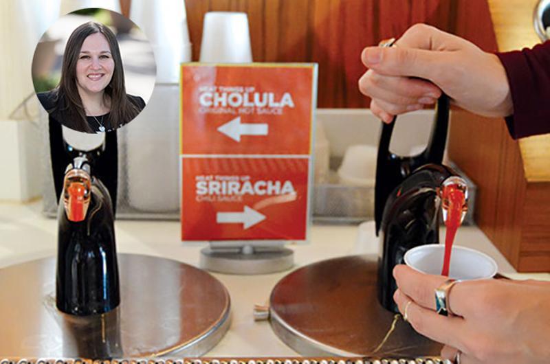 50 Great Ideas: Protein Bar Sriracha/Chuloula pumps