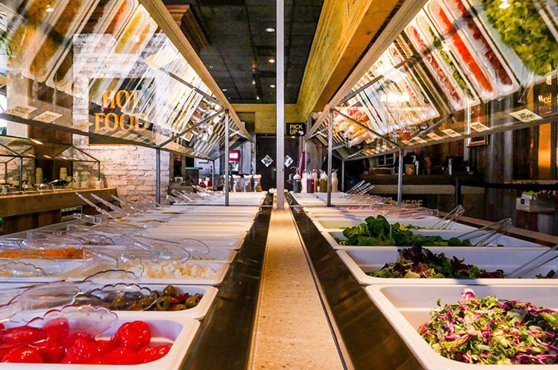3 greens market salad bar
