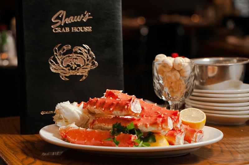 shaws crab house plate