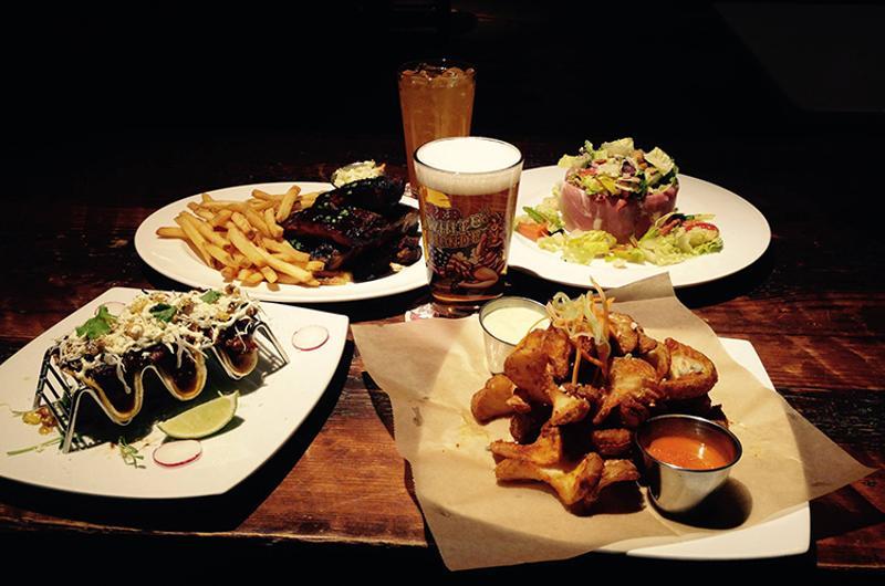 guys american kitchen bar spread