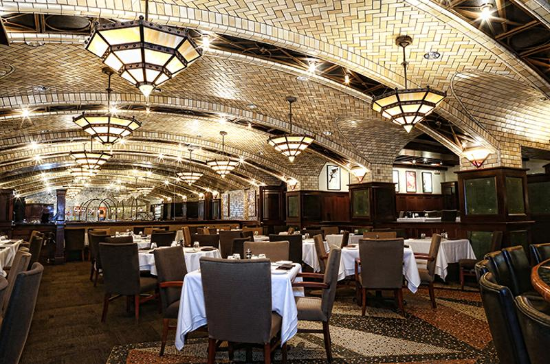 chops lobster bar interior