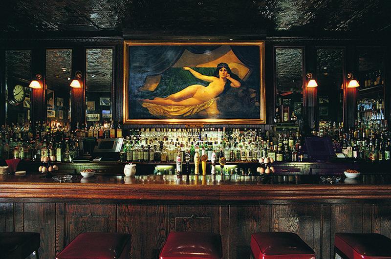 keens steakhouse interior