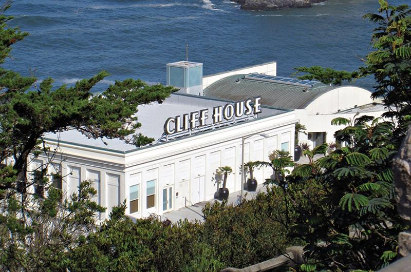 cliff house exterior