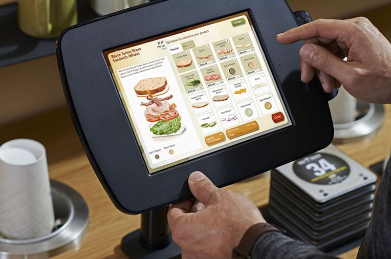 automation panera tablet