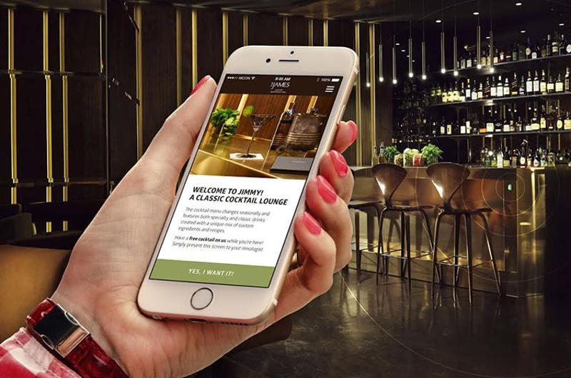 restaurant beacons geotargeting