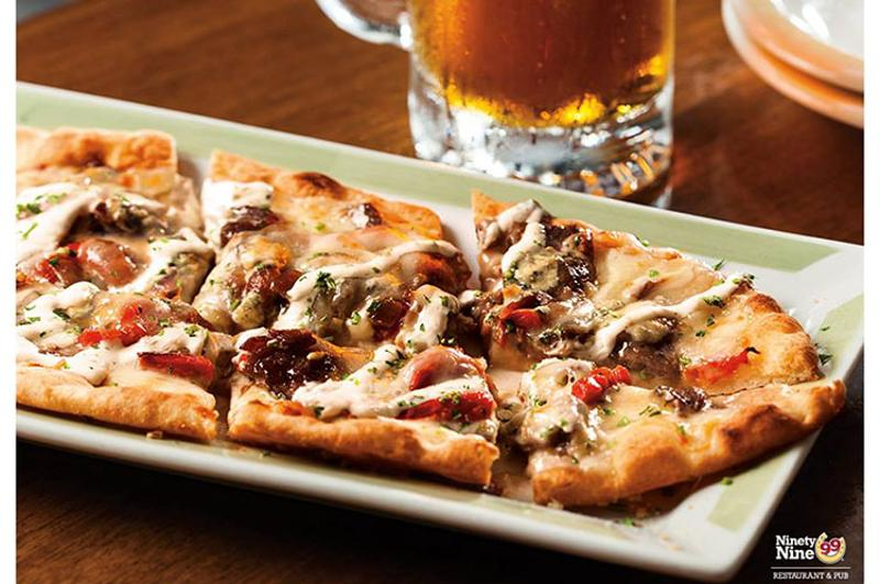 ninety nine restaurant flatbread