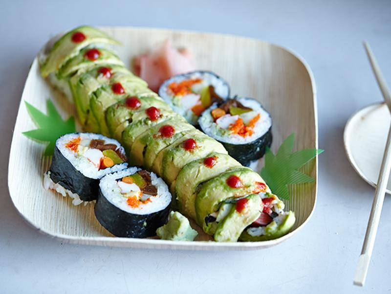 acme veggie avo sushi