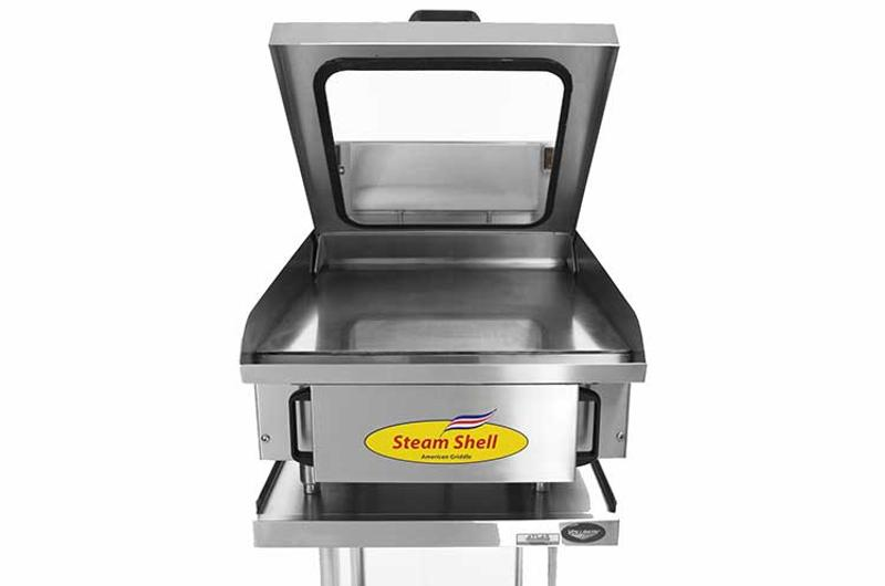 american griddle steam shell