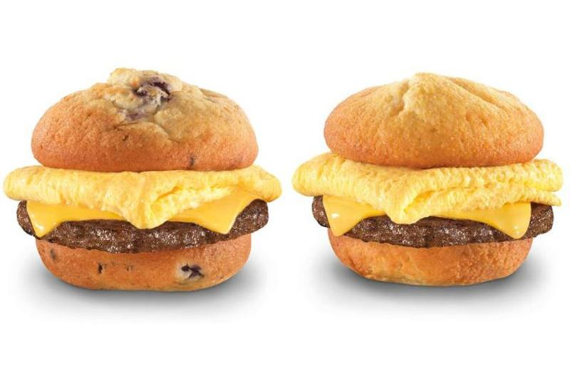 carls jr breakfast sandwiches