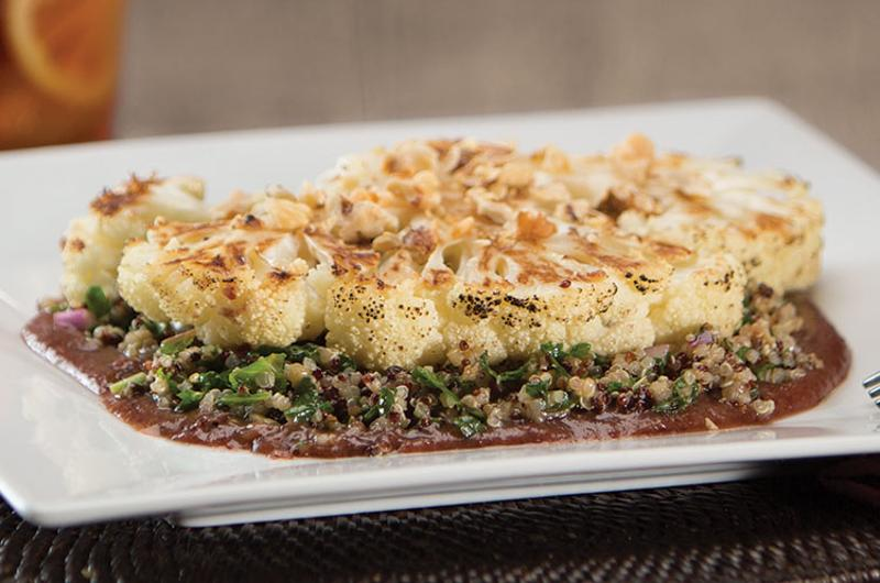 wildflower bread company cauliflower steak salad