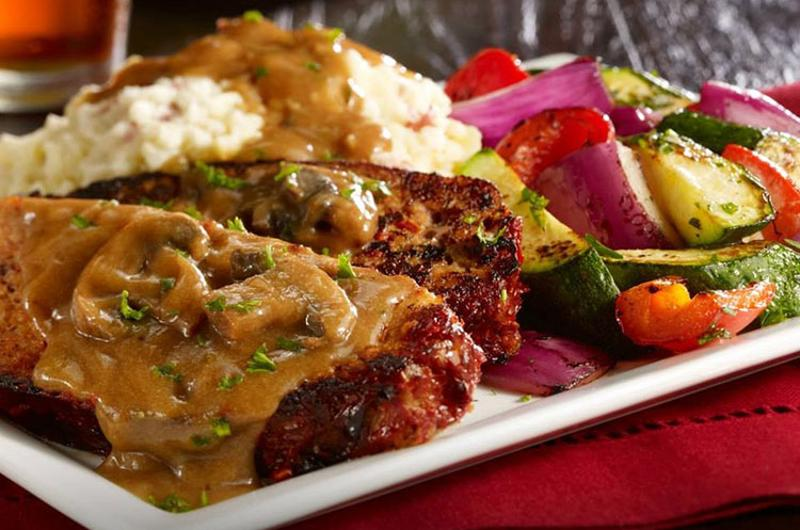 champps meatloaf plate