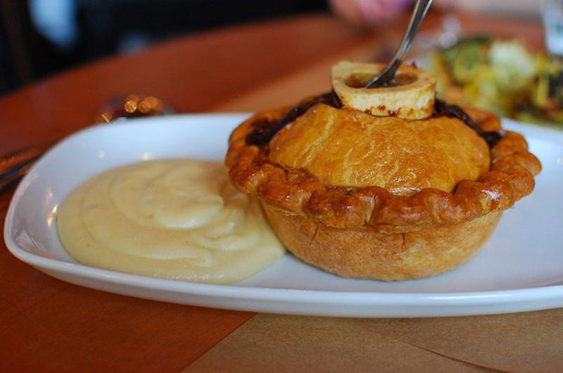 The Beef and Bone Marrow Pie