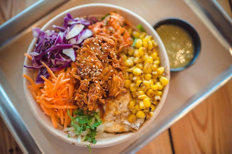 chilantro spicy chicken bowl