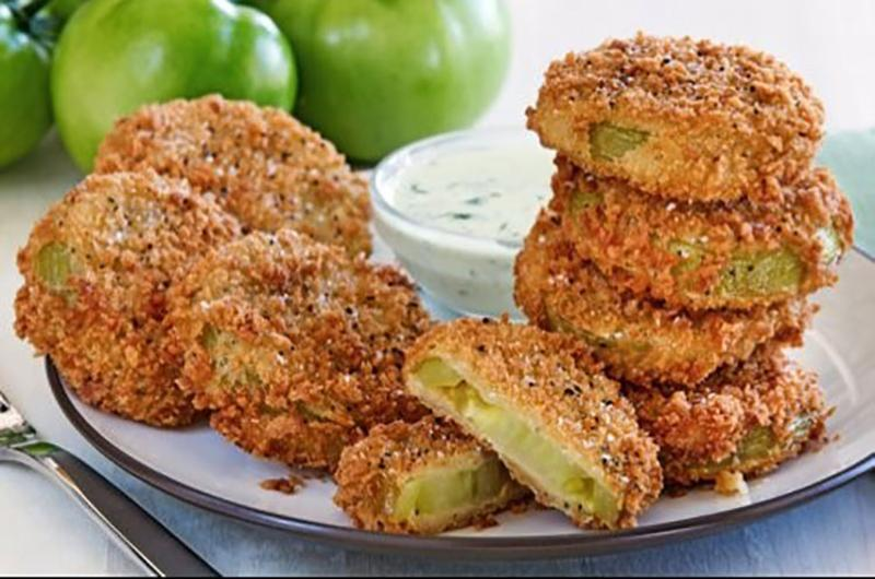 cotton patch fried green tomatoes
