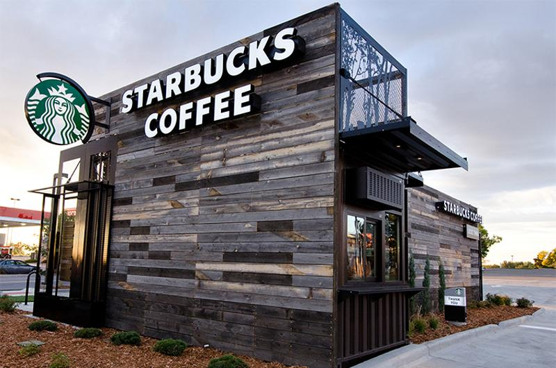 drive-thru awning starbucks