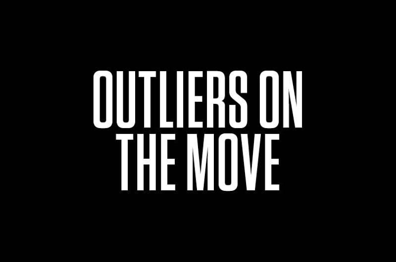 outliers on the move