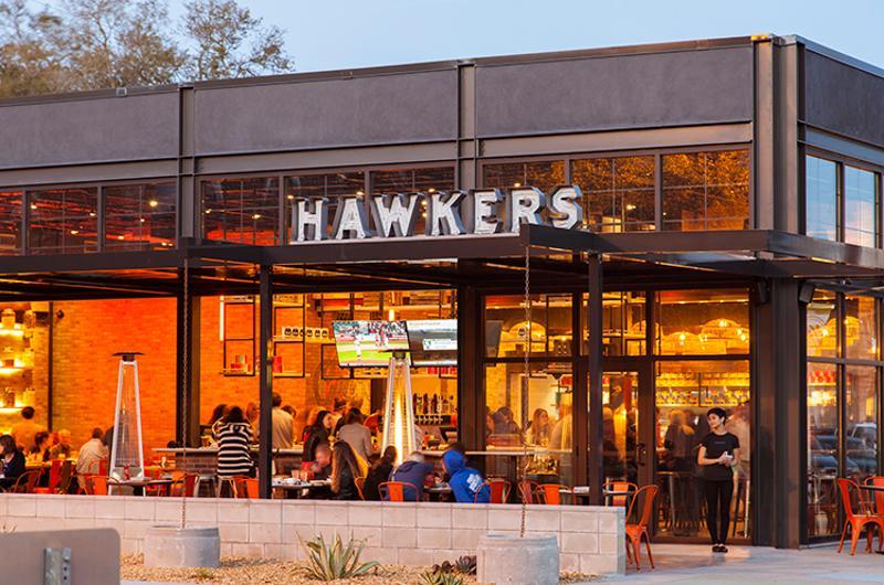 hawkers restaurant exterior