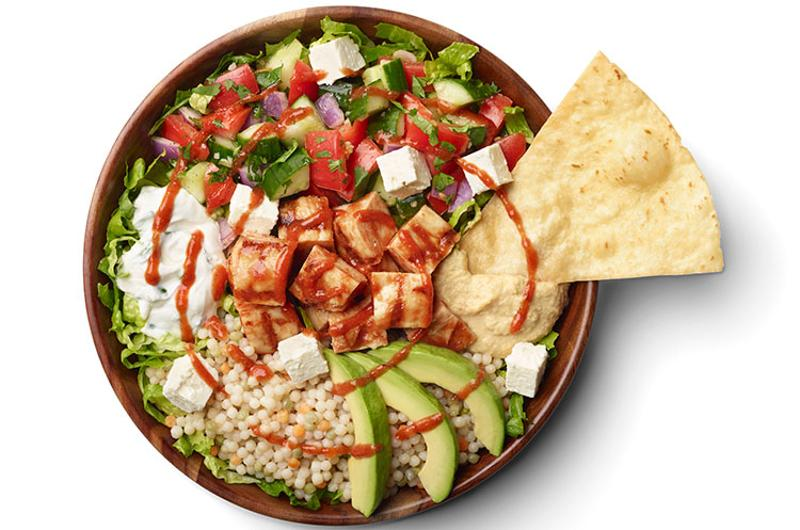 california tortilla mediterranean bowl