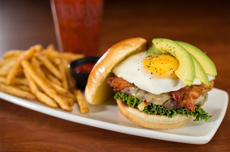 native grill hangover burger