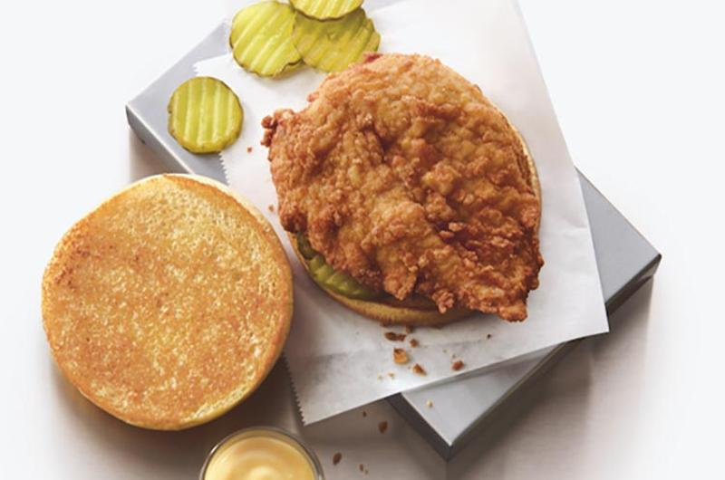 original chicken sandwich chick fil a