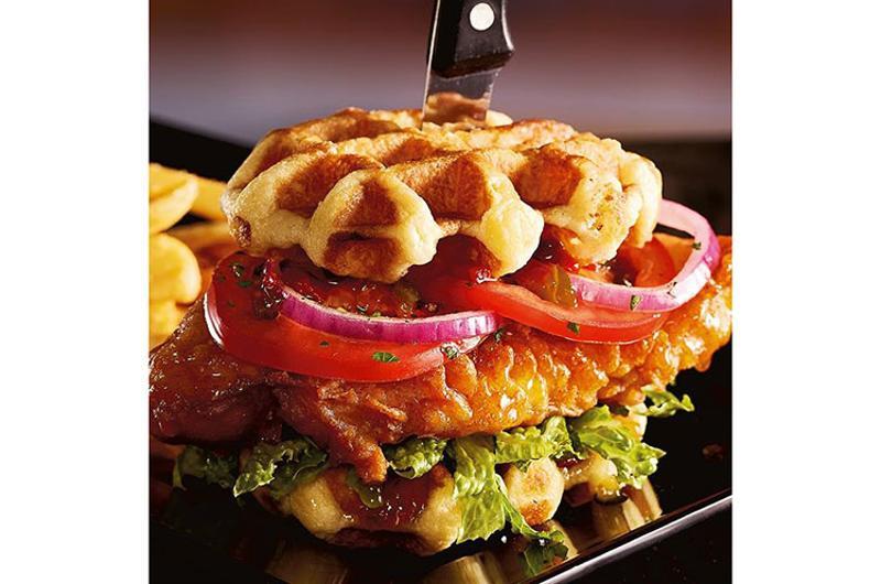 red robin waffle sandwich