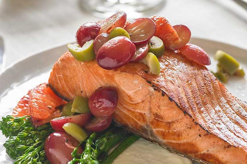 salmon chutney