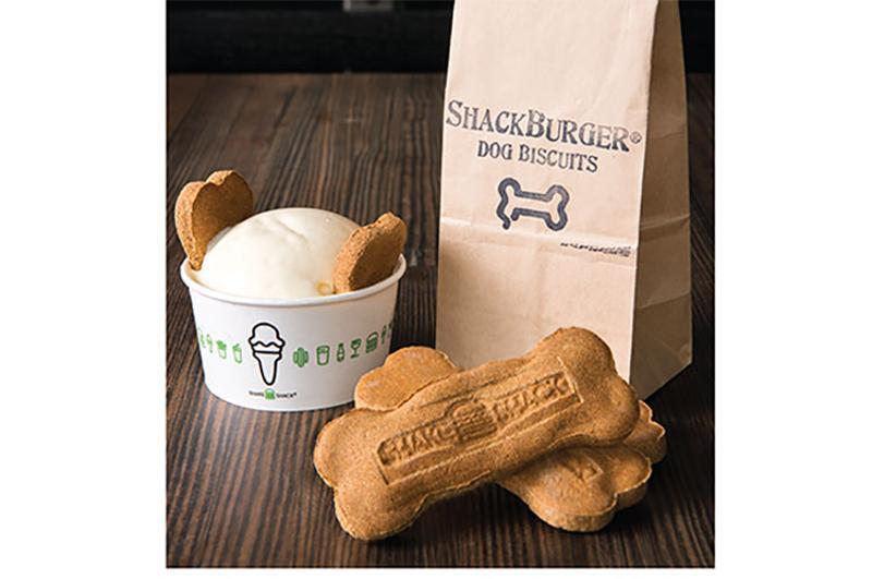 shack burger dog food