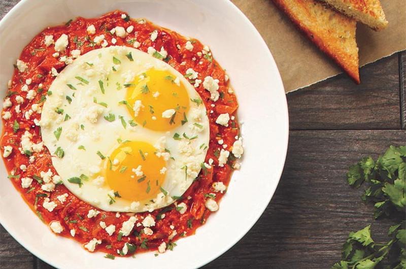 shakshuka breakfast bowl