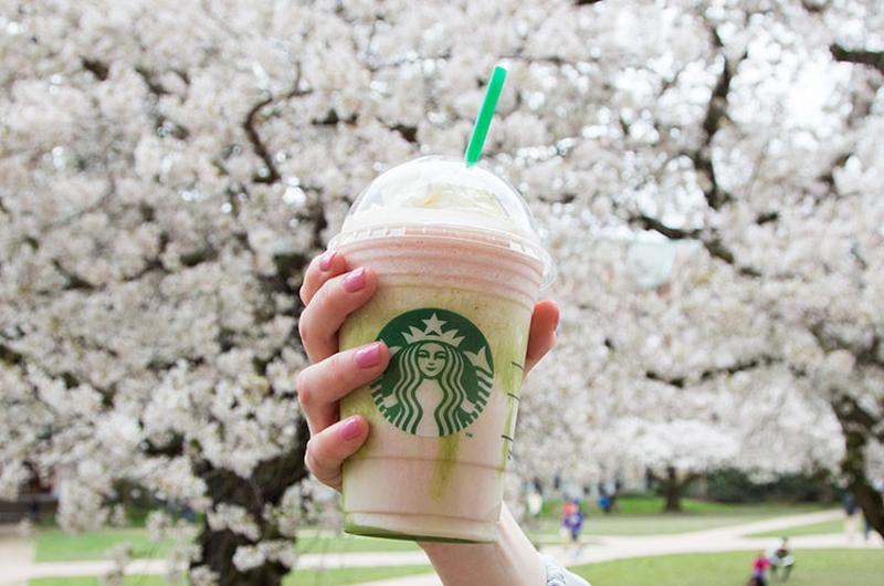starbucks cherry blossom frappuccino