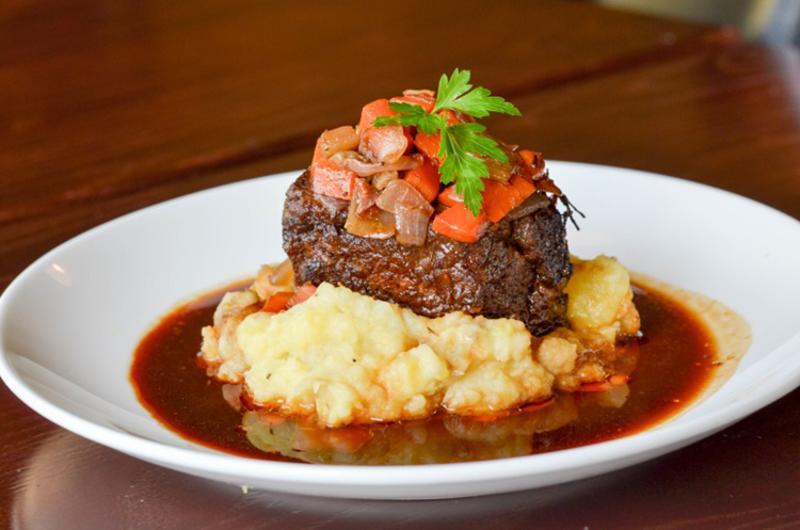 steak and vine