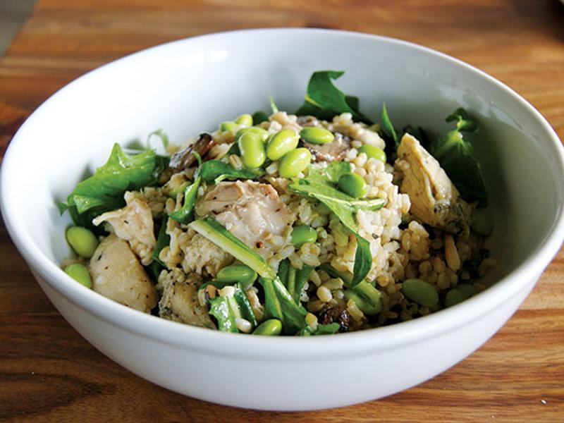 stir market eastside brown rice bowl