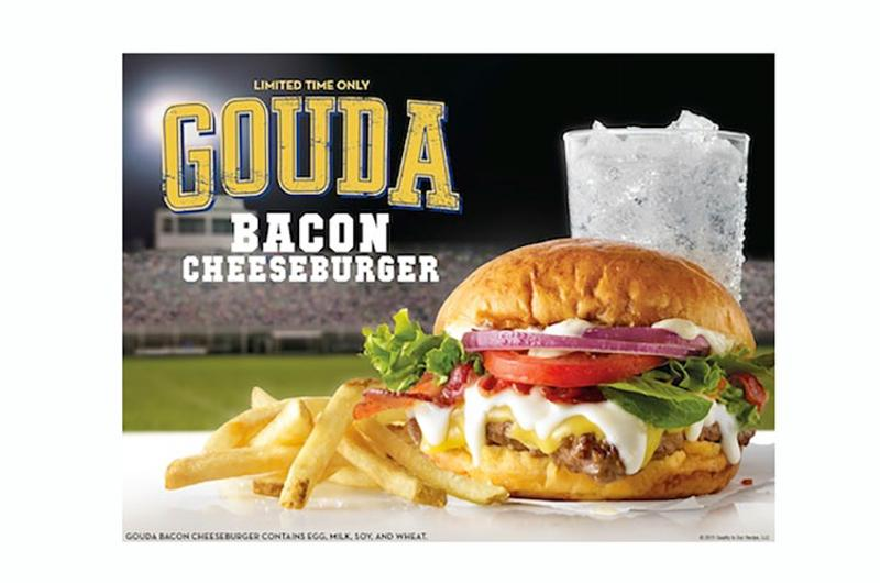 wendys gouda bacon cheeseburger