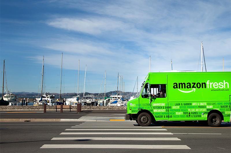 amazon fresh truck