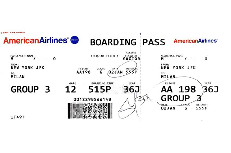 american airlines boarding pass