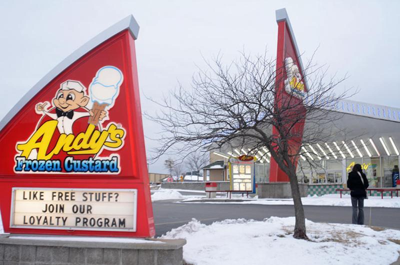 andys frozen custard exterior