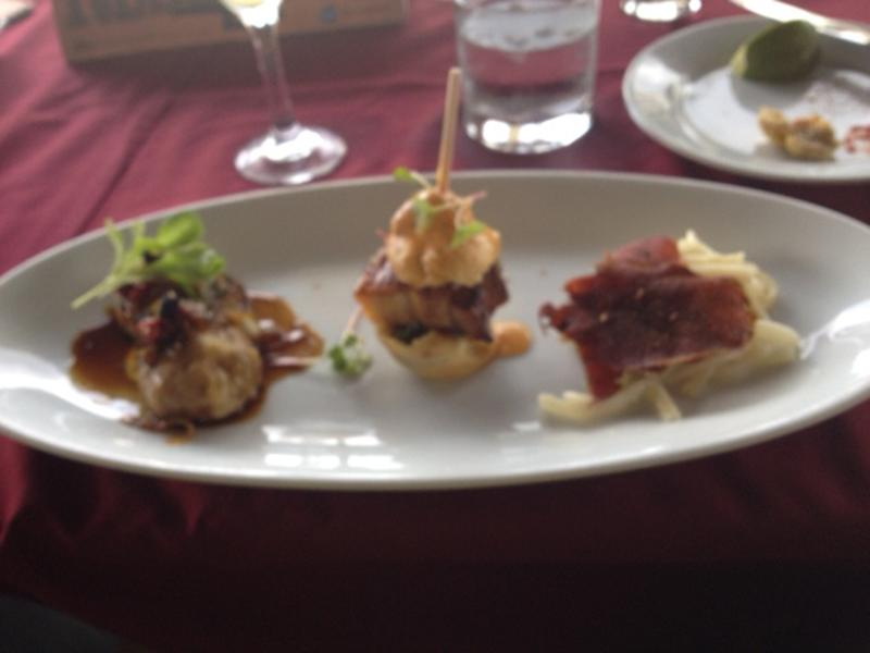 appetizer trio