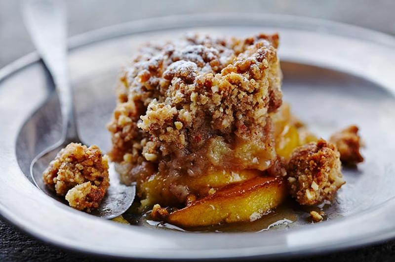 apple crumble crisp