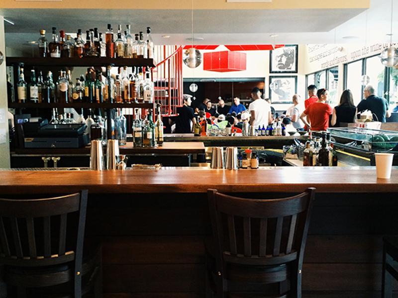 bar side restaurant