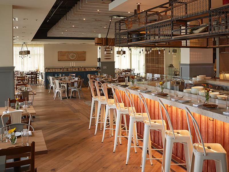 bar tables interior