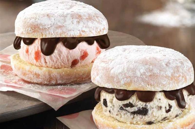 baskin robbins donut ice cream sandwiches