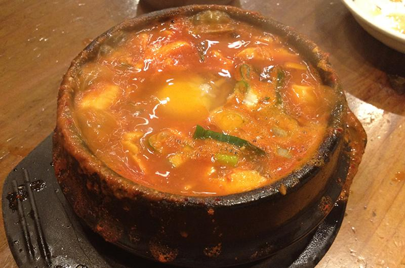 Beef and Mushroom Tofu, Beverly Soon Tofu