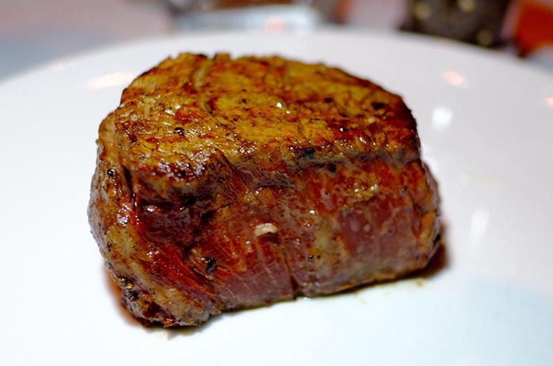 Filet of beef steak