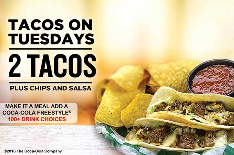 beef o bradys taco tuesday