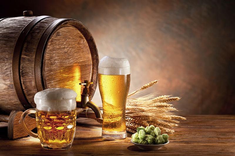 beer barrel glasses