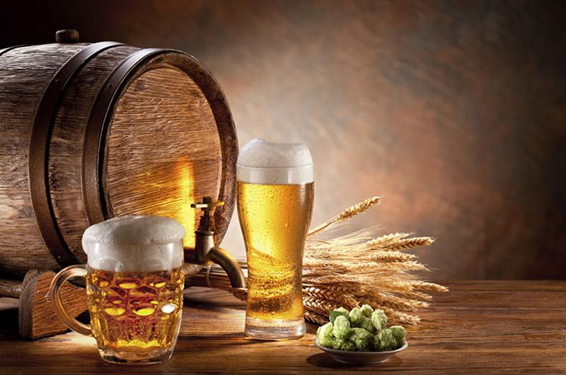 beer barrel glasses