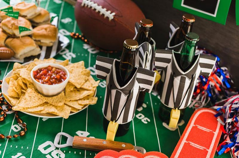 beers chips table